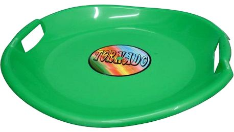 Tornádo talíř sáňkovací zelený