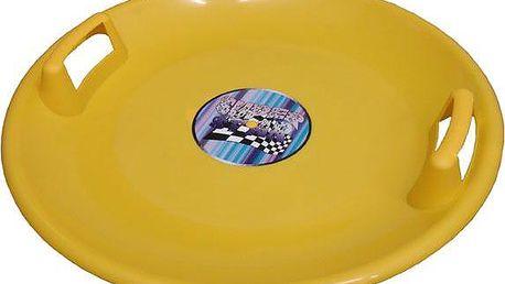Superstar plastový talíř - žlutý