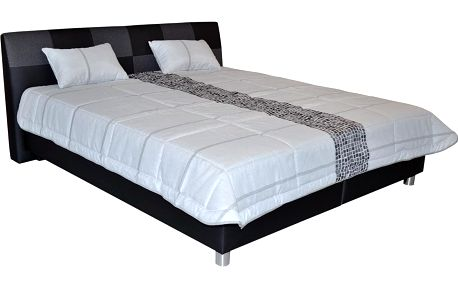 Kvalitní postel Nice, 160x200cm (bez matrací)