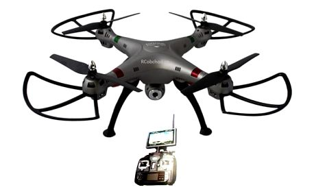 K800FPV - RC dron s online přenosem na obrazovku vysílače RCobchod - RC_17049