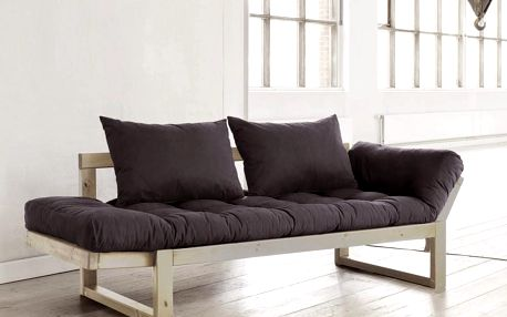 Sofa Karup Edge, přírodní/šedá - doprava zdarma!