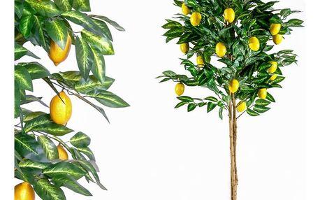Umělá květina strom - citronovník - 184 cm