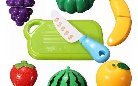 Plastové ovoce a zelenina pro malé pomocníky v kuchyni