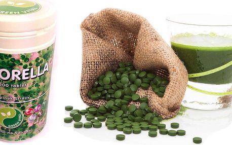 Chlorella - zelená řasa pro vaše zdraví