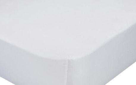 Elastické prostěradlo Baleno, 60x120 cm, bílé