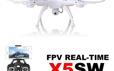 Syma X5Csw PRO - 50 minut letu - WiFi kamera s online přenosem SYMA - RC_44597