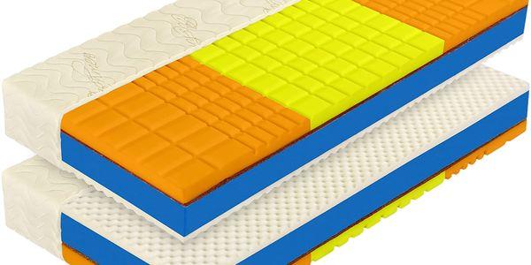 Matrace s potahem IDEA ROMANTIKA PLUS 24 90x200x24 akce 1+1 zdarma