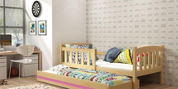 Dětská postel s přistýlkou KUBUS 2