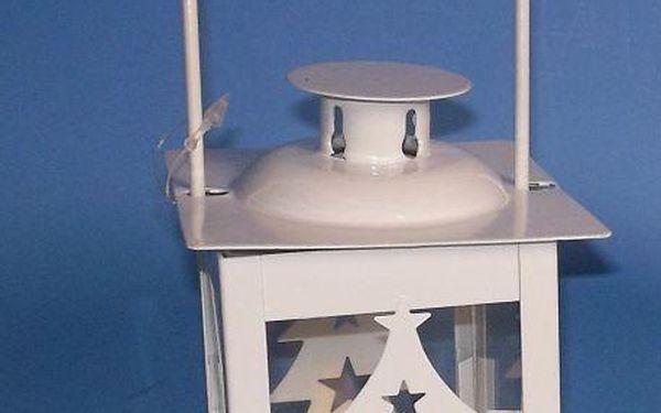 Vánoční dekorace - mini lucerna strom - 1 LED