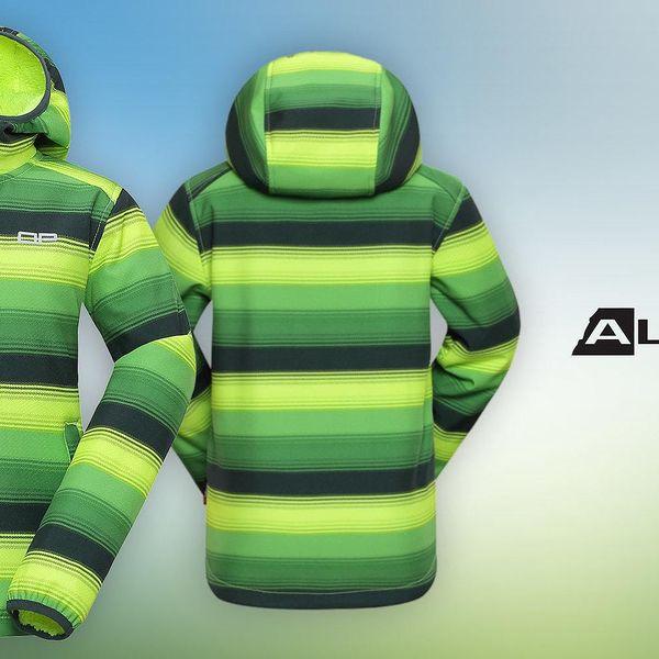 Dětská zateplená softshellová bunda Alpine Pro