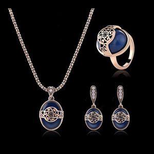 Sada šperků s modrými kamínky - 2 varianty