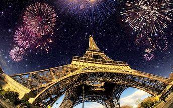 4denní silvestrovský zájezd do Paříže s ubytováním, snídaní a sektem pro 1