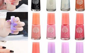 Slupovací lak na nehty v různých barvách - poštovné zdarma