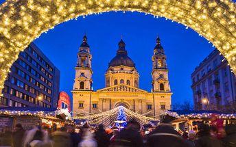 Výlet do Budapešti v době adventu