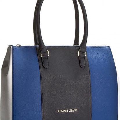 Armani Jeans Borsa Shopping Bag Royal Blue, POSLEDNÍ KUS