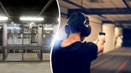 Střelecký balíček pro začátečníky i pokročilé. Možnost až 12 zbraní, Střelnice Příbram