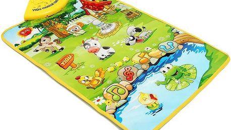 Dětský hudební kobereček - poštovné zdarma