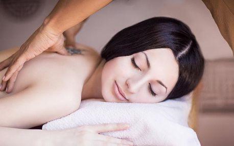 Čínská tlaková masáž zad a šíje