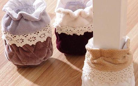 Protiskluzové ponožky na stůl nebo židli - 4 kusy