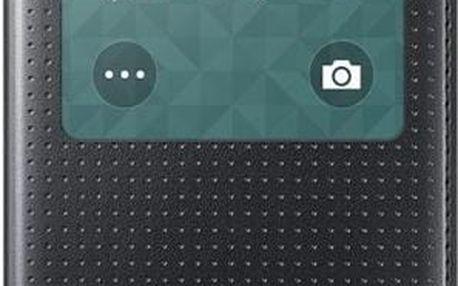 Samsung EF-CG800BK S-view pouzdro pro G800 Galaxy S5 mini děrované černé