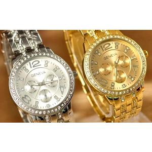 Luxusní dámske hodinky značky Geneva