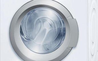 Předem plněná pračka Bosch WAQ 28461BY, bílá