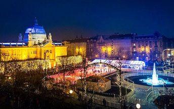 Zájezd pro 1 na vánoční trhy v chorvatském Záhřebu s návštěvou Slovinska a Rakouska
