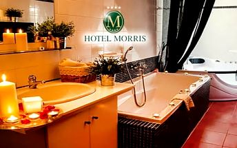 Hotel Morris**** Nový Bor, levandulový pobyt pro dva na 3 dny + polopenze, vířivka, procedury