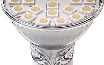 Žárovka LED EMOS klasik, 4W, GU10, teplá bílá (CT-4010S-24 GU10 WW)