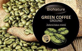 Zelená káva 500 g na detoxikaci organismu