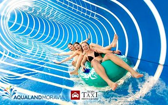 Celodenní vstupenky do Aqualandu Moravia pro 2–8 osob