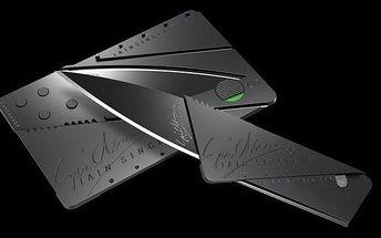 Nůž CARDSHARP - skládací nůž ve velikosti kreditní karty
