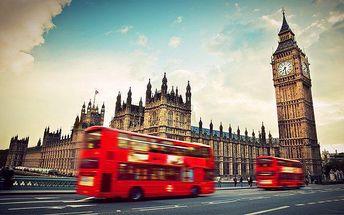 3denní zájezd na nákupy do Londýna s prohlídkou města pro 1 osobu