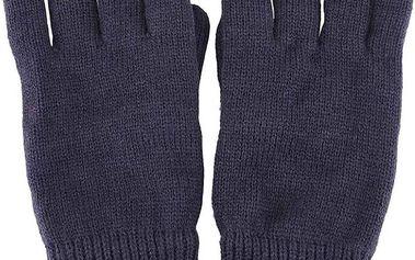 Tmavě modré pletené rukavice Selected Homme Jules