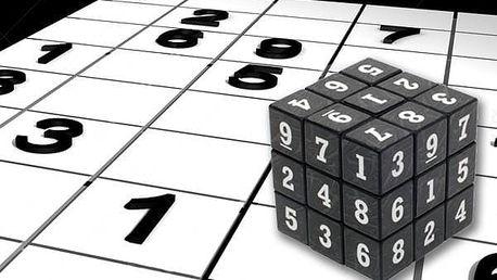 Skládací sudoku kostka