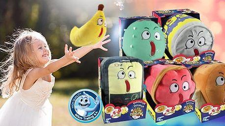 Wha Whaa Whacky - plyšová hračka vydávající zvuk: Kaktus, Soda, Hot Dog, Telefon, Dynamit