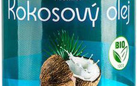Allnature Premium Bio Coconut Oil 1000ml Přípravek na snížení cholesterolu U Bio kokosový olej