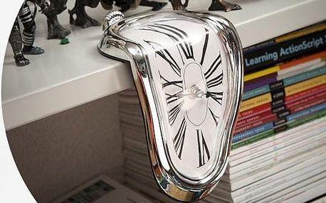 Designové hodiny a lá Salvador Dalí