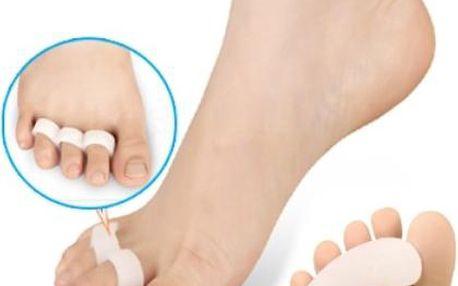 Silikonový oddělovač prstů - bílý - 1 pár - dodání do 2 dnů