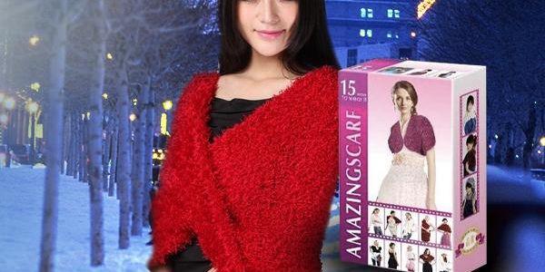 Magická šála Amazing scarf