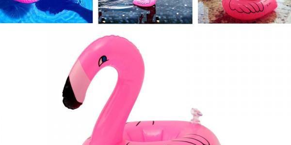 Nafukovací držák nápojů do bazénu - 5 ks - poštovné zdarma