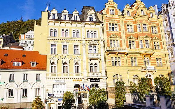 Karlovy Vary pro DVA v 4* hotelu s wellness balíčkem a polopenzí