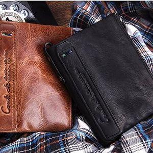 Pánská kožená peněženka Vintage