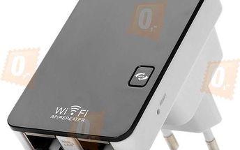 Mini WiFi router a repeater do zásuvky - dodání do 2 dnů