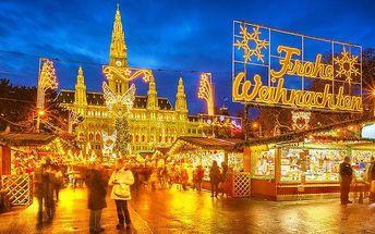 1denní adventní zájezd do romantické Vídně pro 1 osobu