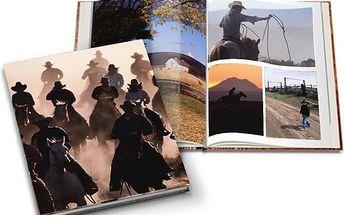 Velké fotoknihy formátu A4 s až 80 stranami