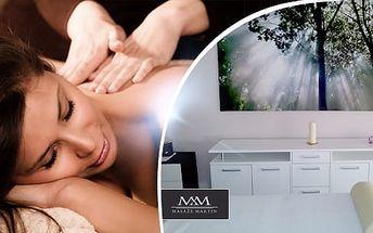 Klasická, regenerační nebo relaxační masáž na 55 minut
