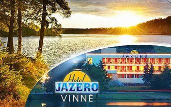 Východní Slovensko: wellness pobyt u jezera Vinné na 3 až 5 dní pro 2 osoby s polopenzí