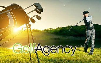 Golfový kurz pro začátečníky: profesionální trenér - člen PGA, závěrečná zkouška a certifikát