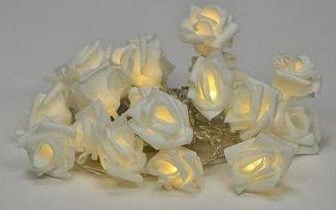 Dekorativní LED osvětlení - rampouchy - ledově bílá